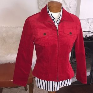 Coldwater Creek Red jacket 🌹
